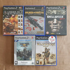 Warriors & Warfare 5 Game Bundle PS2  Tested PAL **FREE UK P&P**