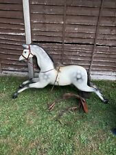 """More details for vintage style carousel horse fairground style 62"""" long"""