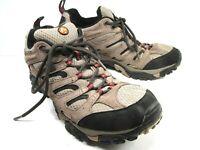 Merrell Continuum Mens Dark Brown Waterproof Vibram Hiking Shoes Size US 10