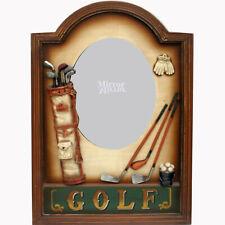Golf Wall Hanging Sign Shadow Box and Mirror