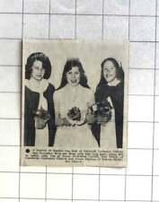 1976 Julie Cox, Gail Smith, Alison Thomas Cornwall Technical College