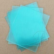 5 Clear Weld Lens 110 x 90mm Plastic Safety Lenses for Welding Helmet Hood