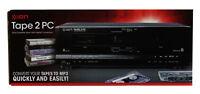 Ion Tape 2 PC Cassette Conversion System, USB Cassette Archiver - Black