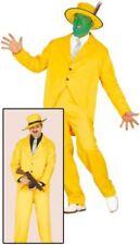 Déguisements taille M/L costumes jaunes pour homme