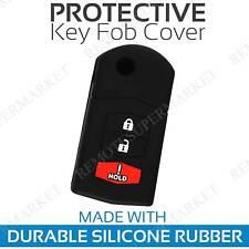 Key Fob Cover For 2004 2005 2006 Mazda Mpv Remote Case Rubber Skin Jacket