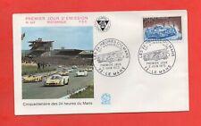 FDC 1973 - Cinquantenaire des 24 heures du Mans  (1596)
