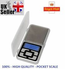 Pocket Digital Scales Jewellery Gold Weighing Mini LCD Electronic 0.01g 100g _UK