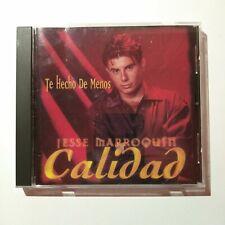 Jesse Marroquin y Calidad - Te Hecho De Menos (CD, 1997, Freddie)