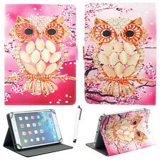 "US For Lenovo 7"" 8"" 10.1"" Tablet Universal Cute Pattern Leather Case Stand Cover"