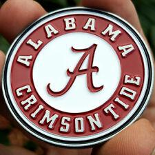 PREMIUM NCAA Alabama Crimson Tide Poker Card Guard Protector Golf Marker Coin