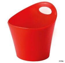 Accessoire Maison - KOZIOL 2839555 Sceau Pot Cache Pottichelli  Rouge XS - NEUF