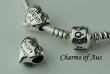 GENUINE Pandora bracelet all sizes + Dream Is A Wish charm. Mothers Day gift
