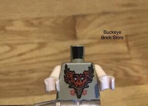 Lego Torso Harry Potter Durmstrang Stag Coat of Arms Pattern Victor Krum