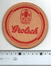 Grolsch Bier Vintage Dutch Beer Mat