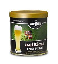 Mr. Beer Grand Bohemian Czech Pilsner Home Brewing Beer Refill Kit, New, Free Sh