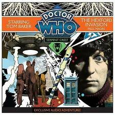 DOCTOR WHO - THE HEXFORD INVASION -TOM BAKER CD NEW AUDIO BOOK PART 4 PAUL MAGRS