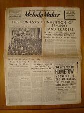 MELODY MAKER 1937 DEC 4 HOWARD JACOB SHIM-SHAM TRIANON