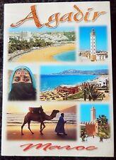 10 Photographs Cards Fold Out in a Cover - Agadir - Morocco