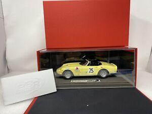 1/18 BBR  1967 Ferrari 275 GTS/4 Sebring Class Winner  NART DAMAGED BBR1847
