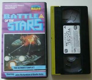Battle of the Stars (Precision precert VHS) VPMPV2624 1977 Jason Palance Sci-Fi