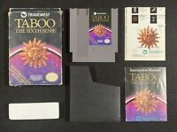 Taboo the Sixth Sense Nintendo NES complete tested original authentic