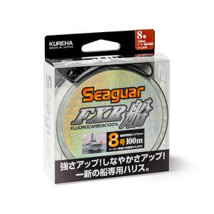 Seaguar FXR Fune 100m, 100% fluorocarbon fishing line, shock leader line,UK-disp