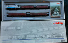 Set tren mercancias transporte de cemento Marklin 2848