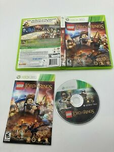 Microsoft Xbox 360 CIB Complete Tested LEGO The Lord of the Rings LOTR Ships Fas