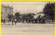 cpa 54 TOUL 14 Juillet Retour de la REVUE MUSIQUE du 160e Régiment d'Infanterie