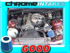 BLUE 1992 1993 1994 1995 BMW 318 i is ti 318i 1.8L AIR INTAKE FILTER ADAPTER KIT
