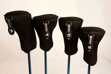 Golf Club Hybrid Headcovers New 3 4 5 6 Set Head Covers Fits Taylormade Hybrids