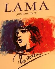 SERGE LAMA Tape Cassette DE BONAPARTE A NAPOLEON 1982 Polygram Canada 7579-039