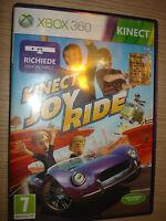 Spiel Xbox 360 Joy Ride Für Kinect Komplett IN Italienisch X Box Activision