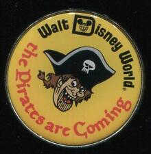 WDW Florida Project Mystery Character Buttons Pirate Disney Pin 84279