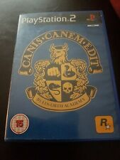Canis Canem Edit (Sony PlayStation 2, 2006) PS2 PAL