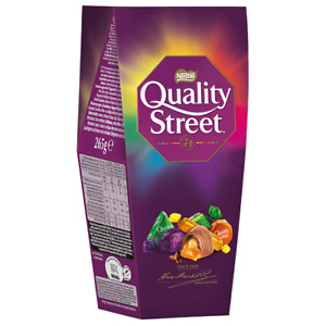 QUALITY STREET Nestle Assorted Milk and Dark Chocolates and Toffee Candy Sweets