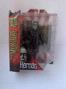 """2011 DIAMOND SELECT TOYS 8"""" THE MUNSTERS HERMAN MUNSTER ACTION FIGURE RARE"""