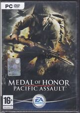 PC Gioco MEDAL OF HONOR - PACIFIC ASSAULT nuovo sigillato Italiano