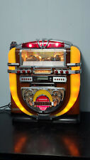 Vintage large Polyconcept Rock N' Roll Jukebox Radio, Cd Player, Cassette Retro