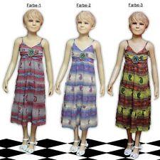 Markenlose Kurzarm Mädchenkleider aus 100% Baumwolle für die Freizeit