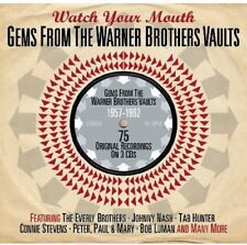 Gems From The Warner Brothers Vaults - Watch Your Mouth (3CD 2013) NEW/SEALED