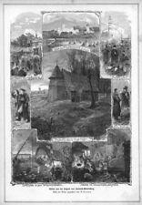 Polnisch-Wartenberg, Syców, Sammelblatt, Polen, Holzstich 1879