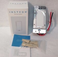 NEW  Insteon 2477D SwitchLinc Dimmer Switch, 600W - White - New In Box