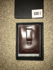 Piquadro Brown Leather Credit Card Case RRP £79
