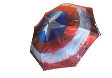 Marvel Comics Civil War Captain America Shield Outside Print Umbrella MC-CWUM-02
