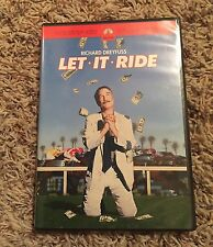 Let It Ride (DVD, 2001, Widescreen) SUPER RARE AND OOP