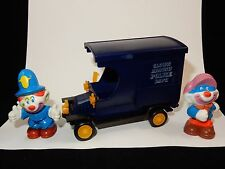 Mego 1981 Clown Around Police Paddy Wagon w/ Cop #1 & Pugsey the Crook Clown