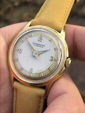Vintage Junghans German Made Mens Watch Cal. 93/1 Great Dial 33,3mm Radium Hands