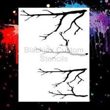 Camo Tree Limbs Set  Airbrush Stencil,Camouflage