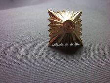 Stern für Schulterklappen 31mm, Gold - auch für Epauletten Deutsch 1WK 2Stück
